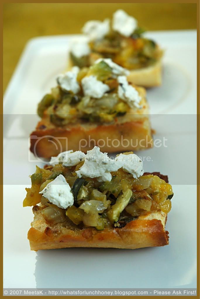 Roasted Veg Bruschetta (02) by MeetaK