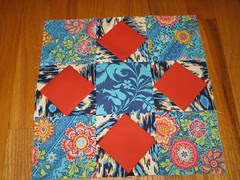 Sew Happy Quilt block