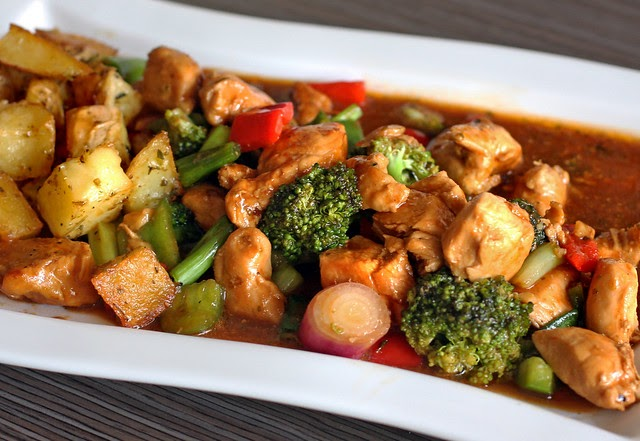 Contacto con lo divino pollo en salsa barbacoa bbq for Barbacoa bbq