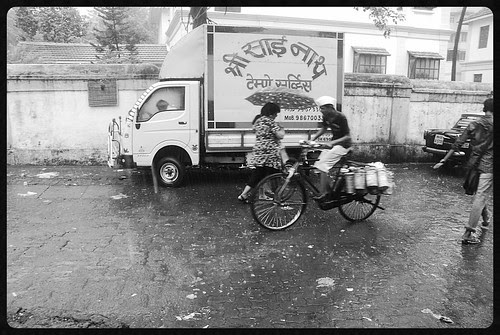 Dabbawalas in the Rains Unlike You They Dont Grumble Or Complain..Or Inflict Pain by firoze shakir photographerno1