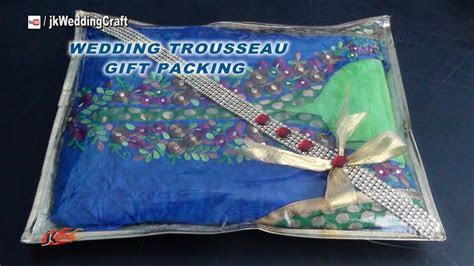 Easy Gift Packing Ideas for Wedding Trousseau   How to