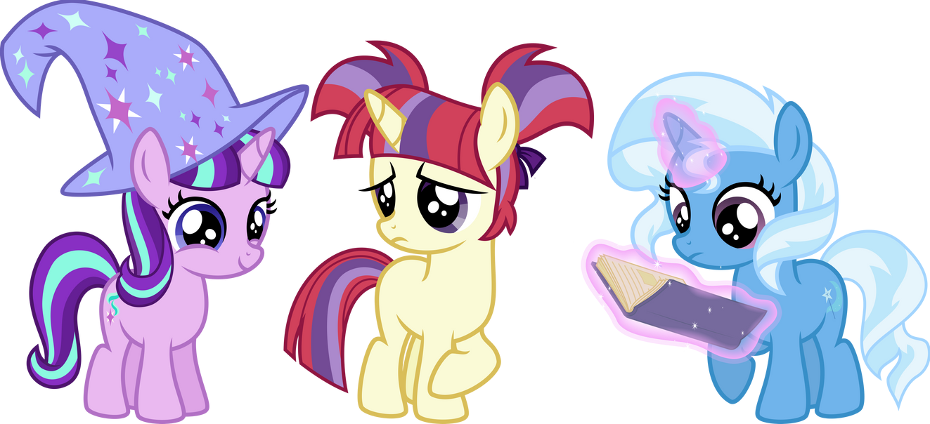 AU Filly Ponies by Osipush