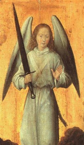 The Archangel Michael - Hans Memling