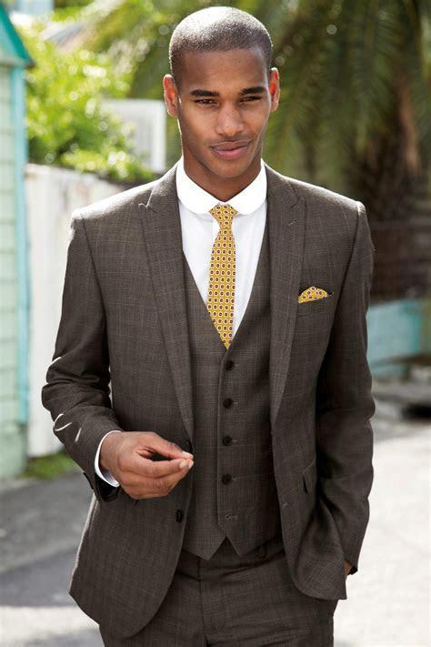 Brown Wedding Suit   My Dress Tip