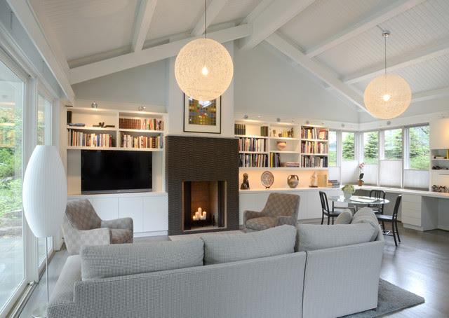 Grandin Residence - modern - living room - cincinnati - by Drawing