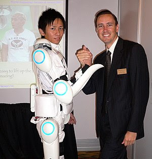 A Hybrid Assistive Limb powered exoskeleton su...