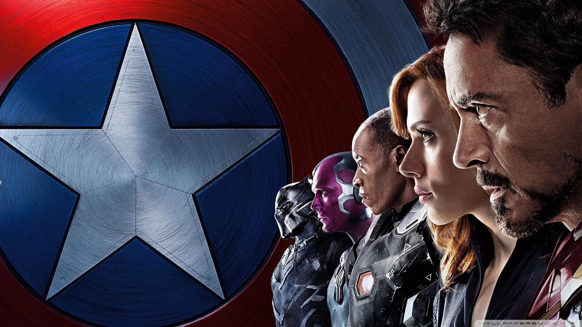 Iron Man Team Captain America Civil War Wallpaper 39903878