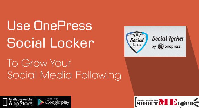 One Press Social Locker