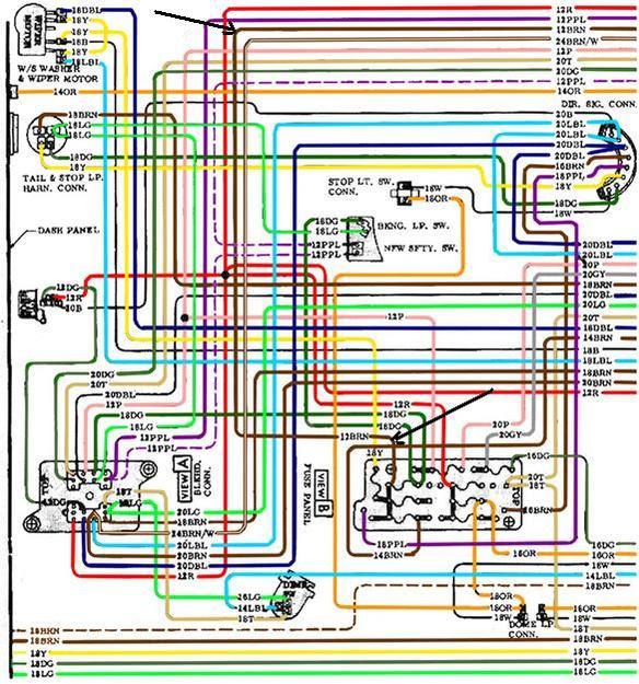 Wiring Diagram For 1971 Gmc Truck Wiring Diagram View A View A Zaafran It