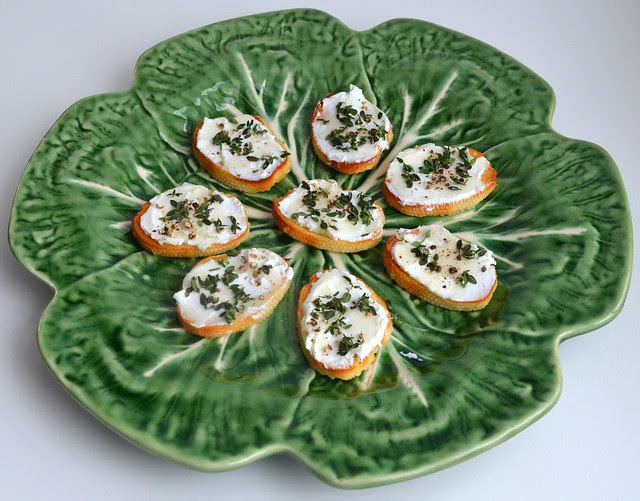 Honey & Herb Crostini