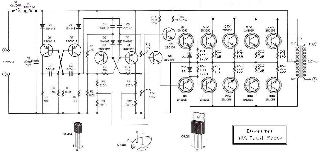 Diagram Wiring Diagram For 12v Inverter Full Version Hd Quality 12v Inverter Diagrammunng Nowroma It