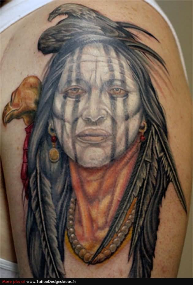 Indian Tattoo On Half Sleeve For Men