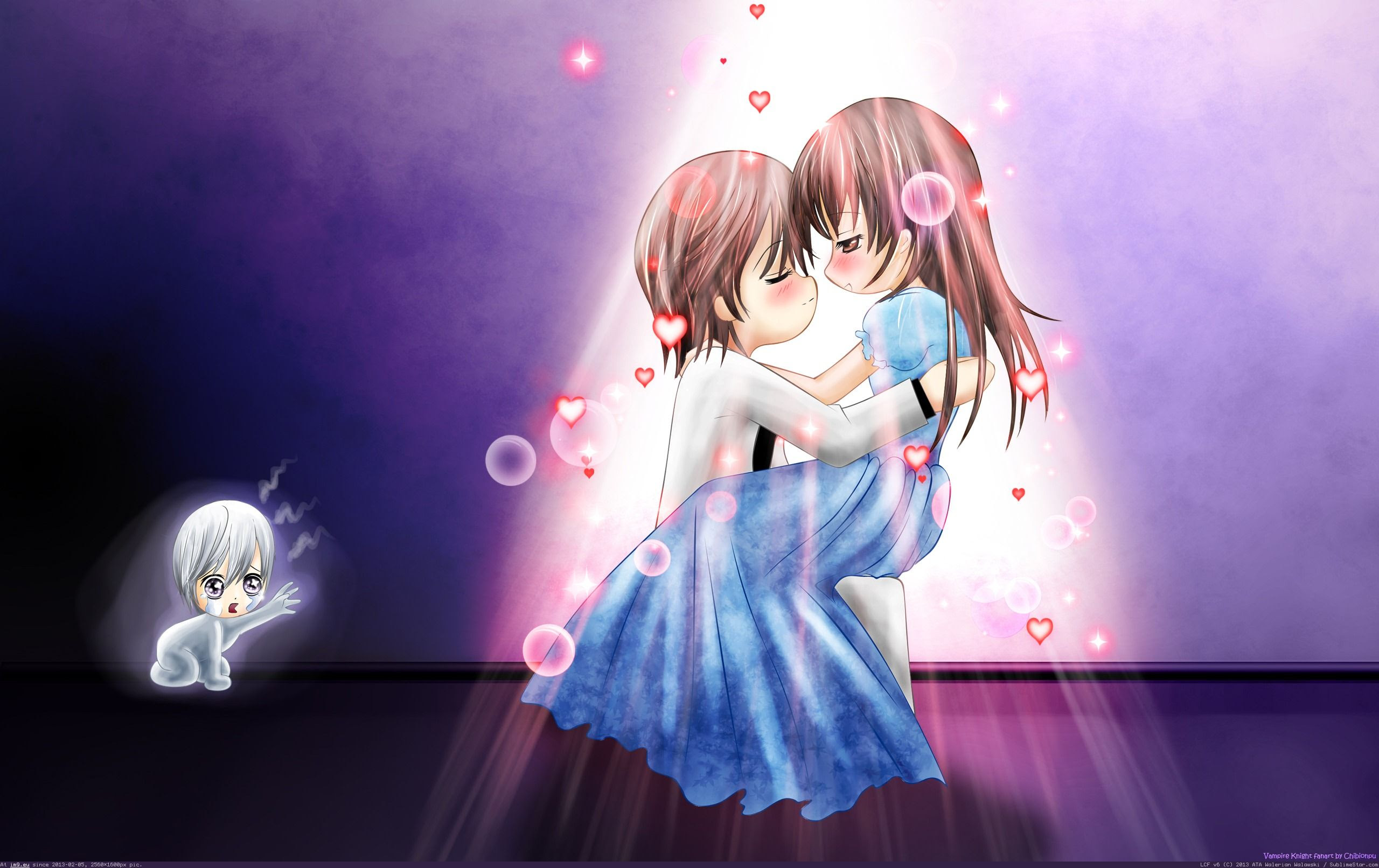 Anime Wallpapers Romantic Anime Couples Wallpaper