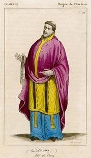 Saint Odon de Cluny, Deuxième abbé de Cluny († 942)