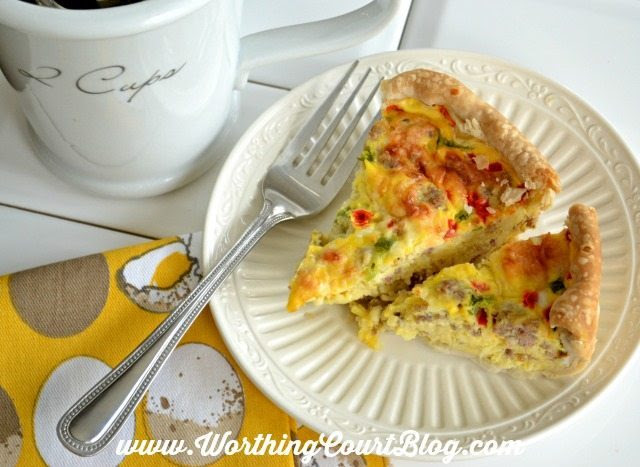 Breakfast Pie Casserole Worthington Court