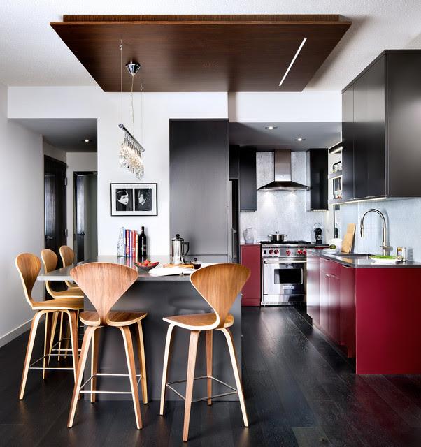 Downtown Toronto Condo - modern - kitchen - toronto - by Toronto