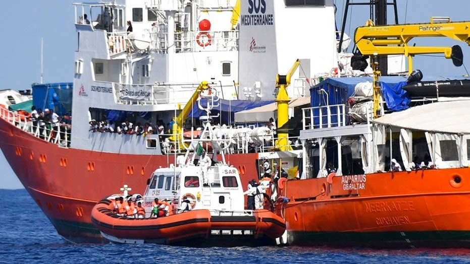 "Italy turned away the French NGO ""SOS Mediterranee"" Aquarius ship last week."