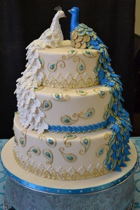 Peacock Wedding   Peacock Wedding Cake #2061041   Weddbook