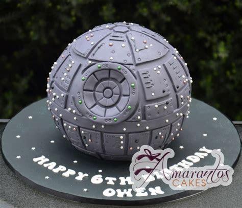 Star Wars Death Star Cake   Celebration Cakes Melbourne