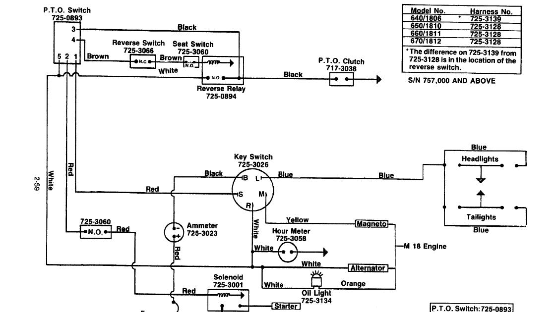 Cub Cadet Lt1045 Wiring Diagram - Wiring Site Resource