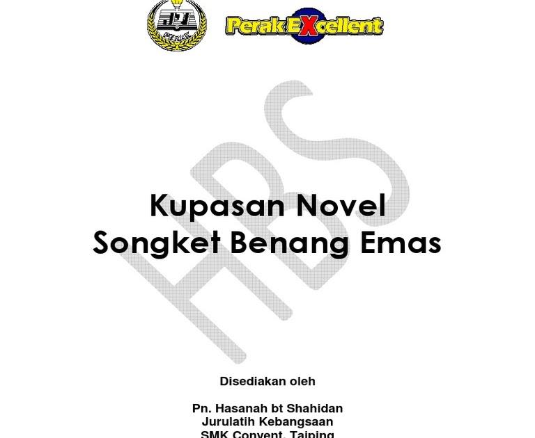 31+ Contoh Jawapan Novel Tingkatan 5 Songket Berbenang ...