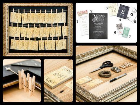 Creative DIY Seating Card Display   Party & Wedding Ideas