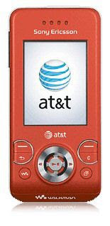 New Red Sony Ericsson W580i from AT&T-Big deal!