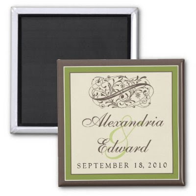 All Wedding Shoppe products are organized by color scheme by wedding month