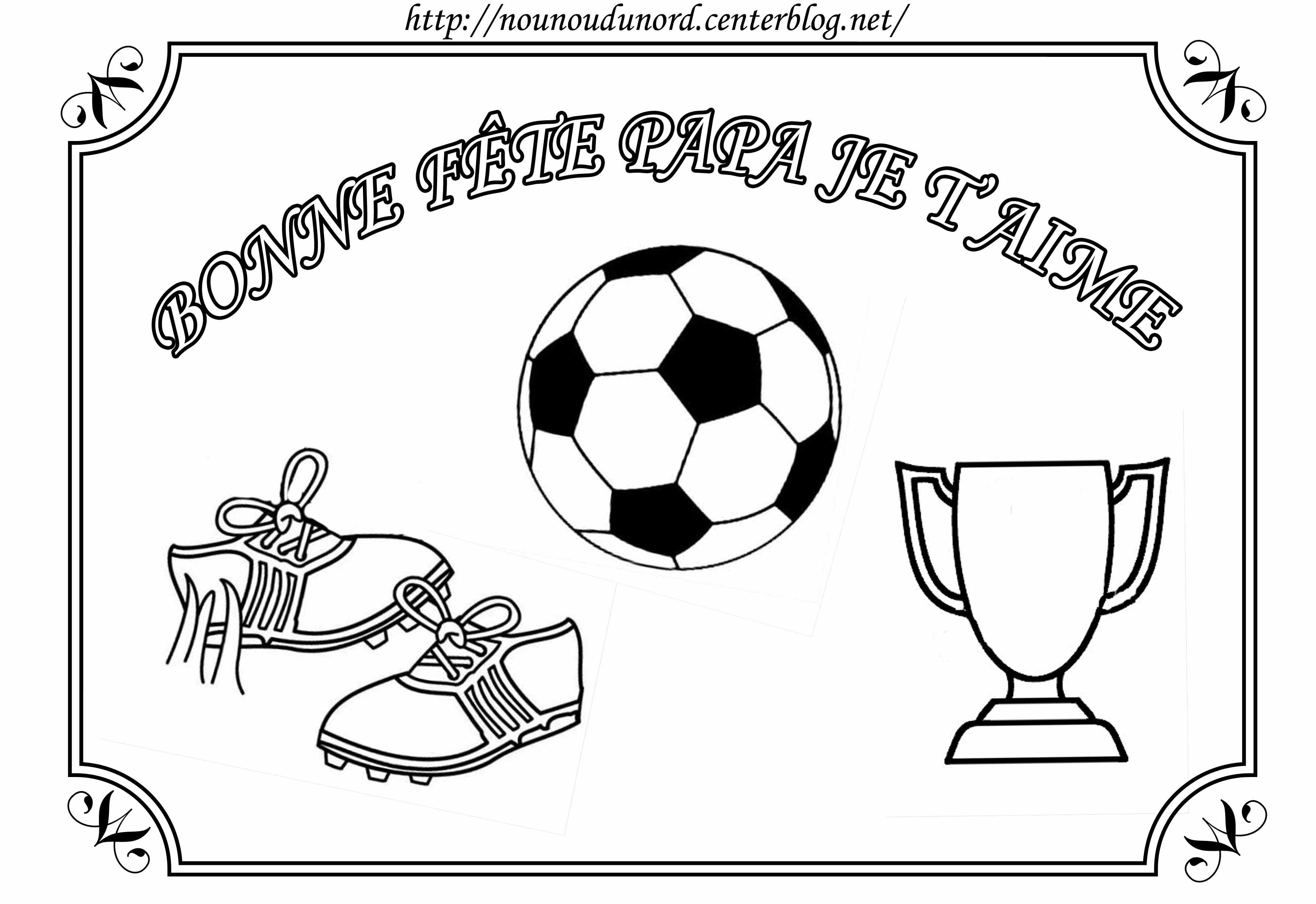 Coloriage  imprimer Sports Football numéro
