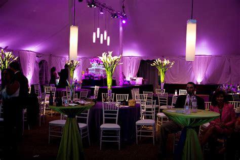 Large outdoor hanging lanterns, tent wedding reception