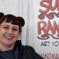 Amy Davis Roth of SurlyRamics.