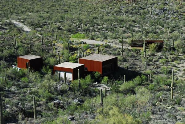 Desert nomad house from the top Enpundit The Desert Nomad Luxury Abode