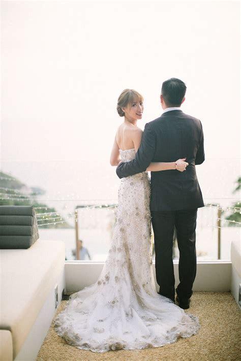 Glamorous White and Gold Destination Wedding on Phuket