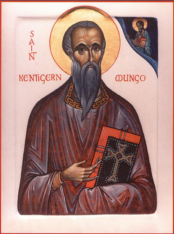 ST. KENTIGERN MUNGO, Bishop of Strathclyde