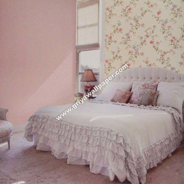 48 Motif Wallpaper Dinding Kamar Tidur Romantis Ide Penting