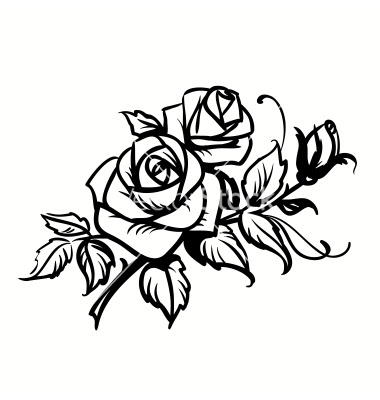 Rose Drawing Black And White At Getdrawingscom Free For Personal