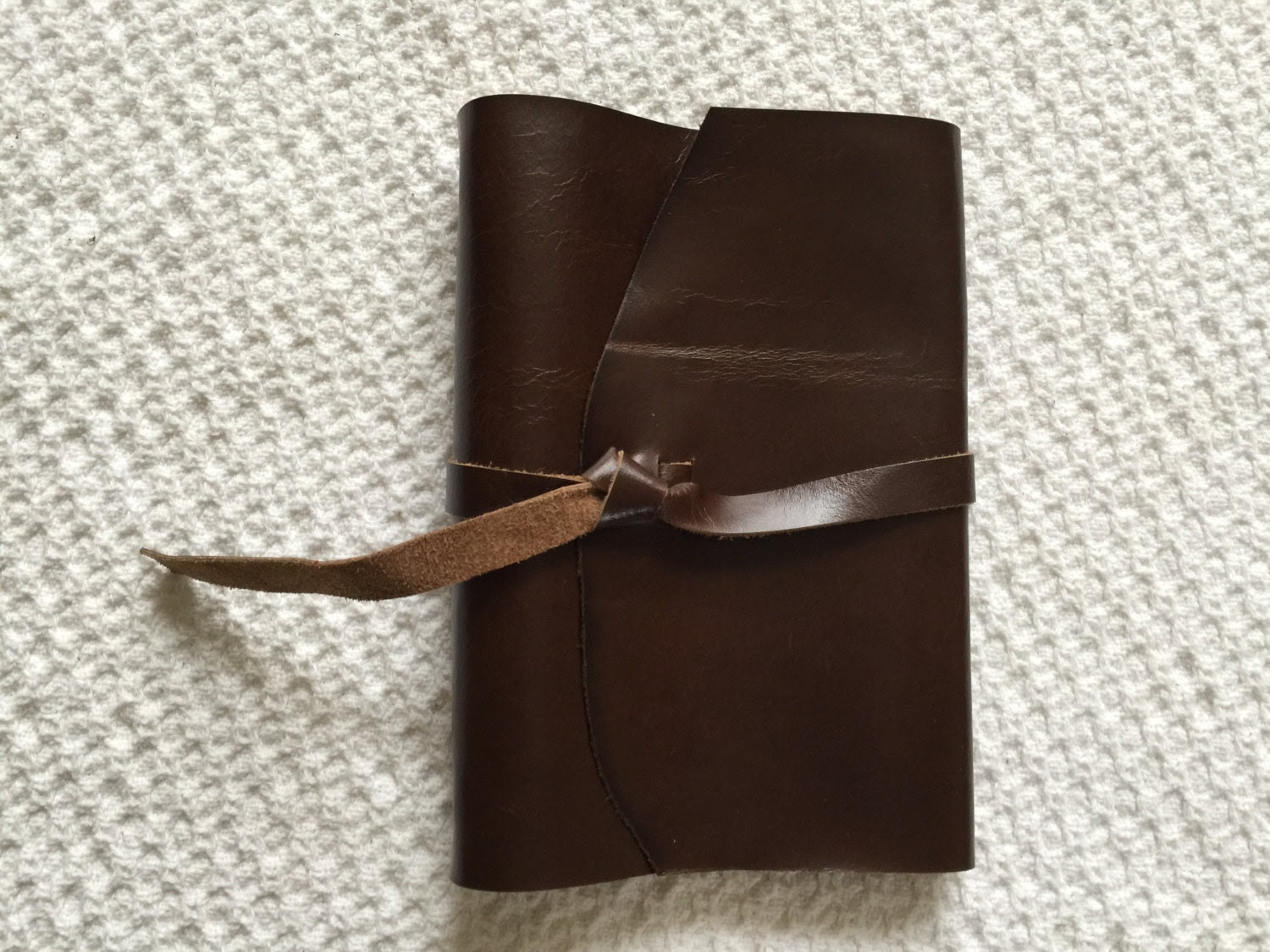 Leather Planner Organizer cowhide leather by rusticjournals