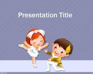 template  background powerpoint  lucu computer