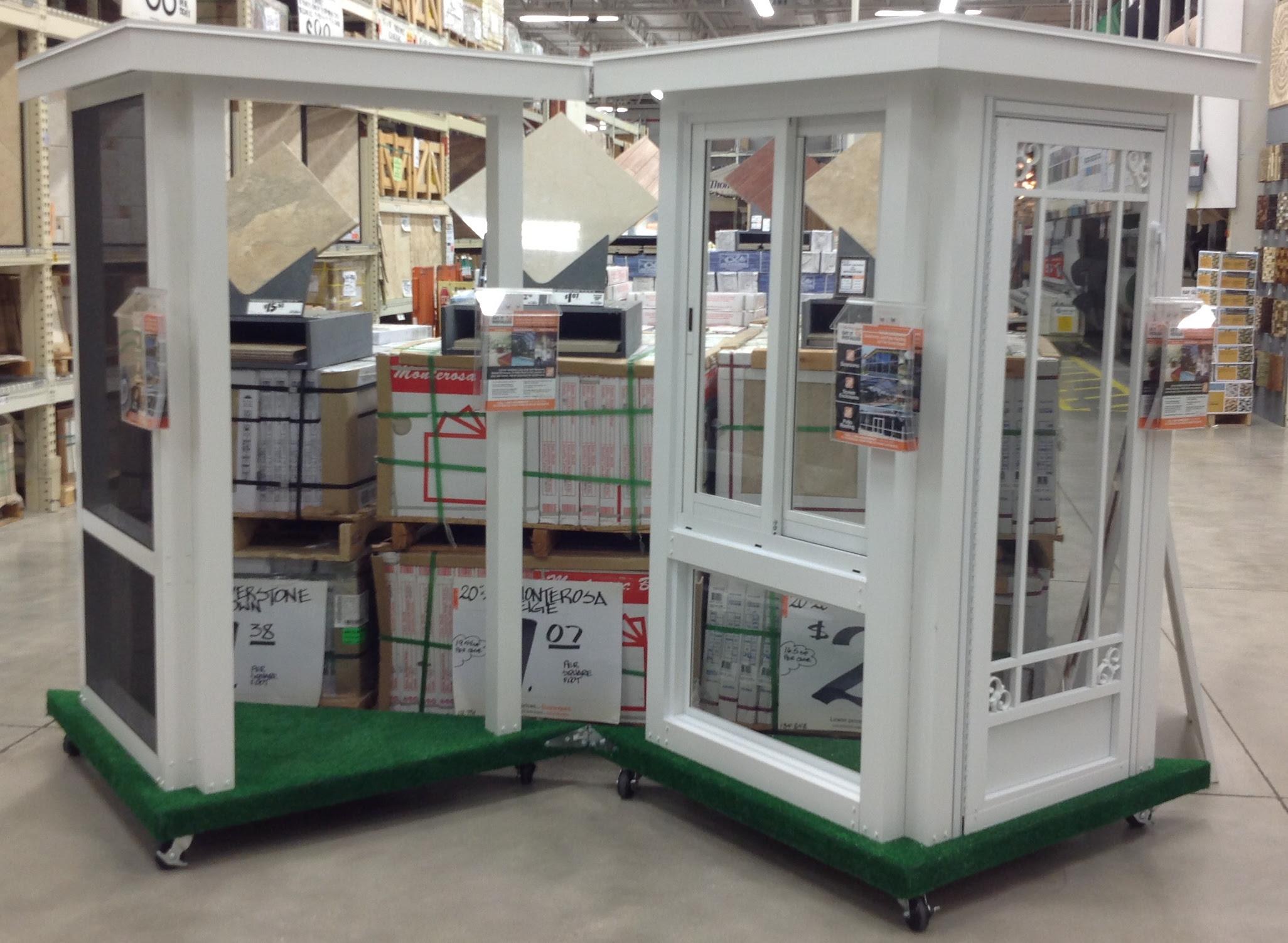 Retail Sales Displays in Lake Worth Home Depots Help Venetian