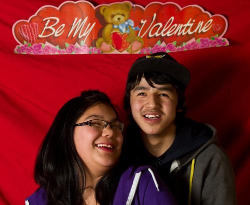 Valentine's dance official pictures / Photos officielles de la danse de la Saint-Valentin