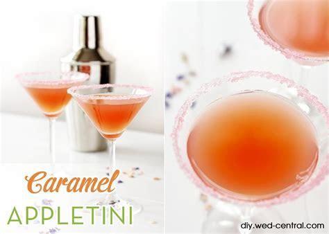 Caramel Appletini Wedding Signature Drink Recipe   Perfect