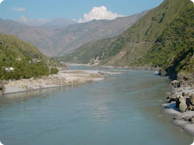 Indus River In Pakistan