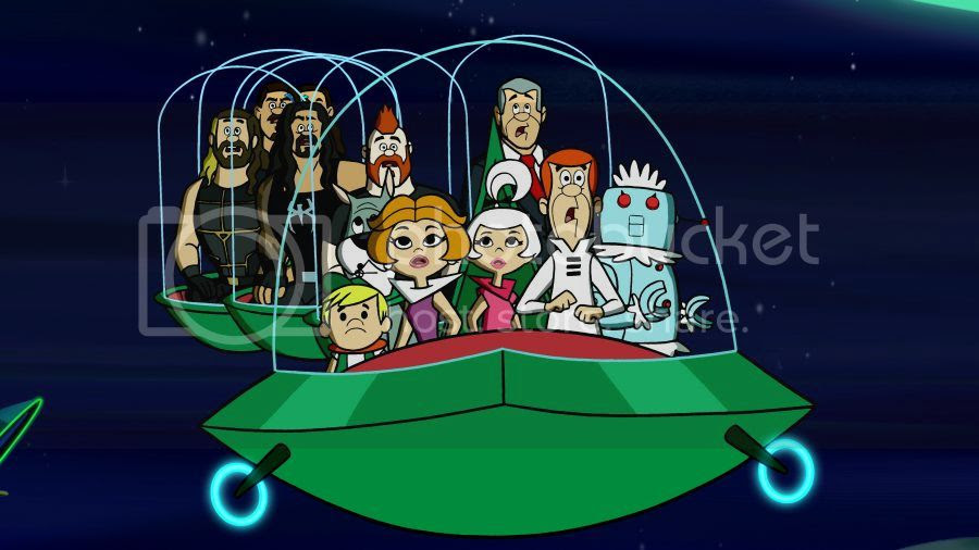 The Jetsons and Wrestlers