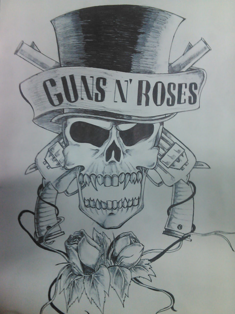 Guns With Roses Tattoos Images For Tatouage