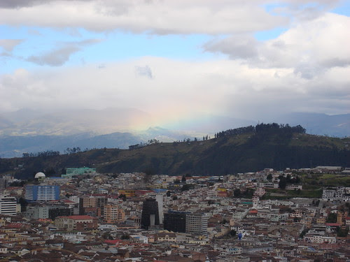 Quito - Rainbow in the Distance