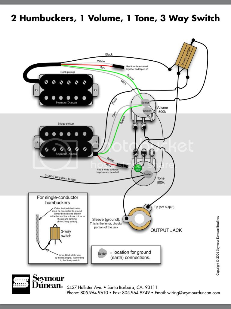 Old Emg Hz Wiring