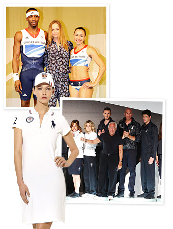 Olympics, Ralph Lauren, Stella McCartney, Giorgio Armani