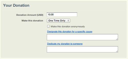 Razoo Donation Page