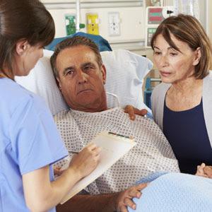 Nurse with Patients