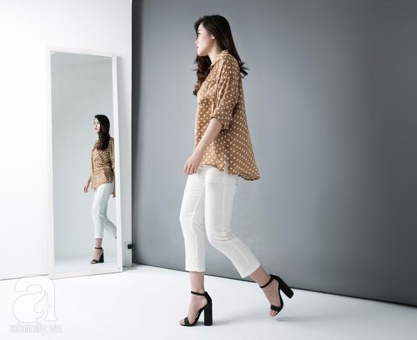 9 chiếc quần vải dưới 700 ngàn VNĐ cho nàng hông to & chân cong 17